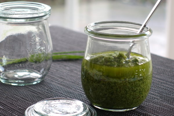 Schnittlauch Pesto low carb
