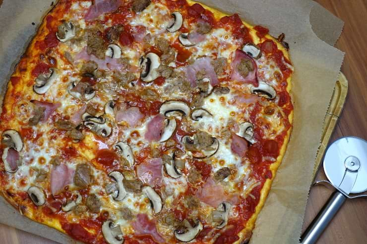 Beste Low Carb Pizza