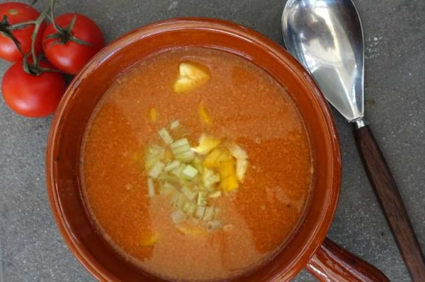 Gazpacho Low Carb Suppe