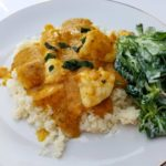 Chicken Korma indisch Low Carb