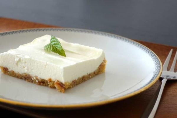 Low Carb Cheesecake mit Zitrone
