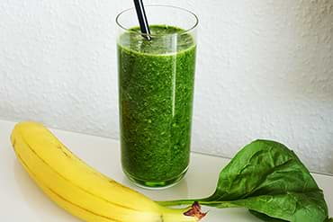 Green Smoothie Low Carb