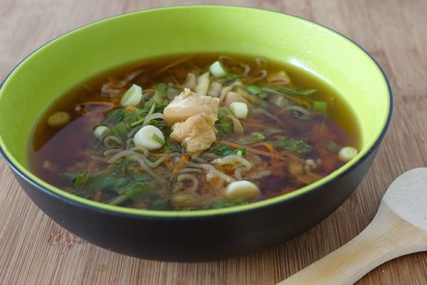 Low Carb Miso Suppe.