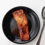 Leckerer Low Carb Lachs in Miso-Paste.